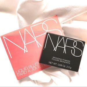 5/$25 NARS Liquid Blush Bronzing Powder Duo Laguna